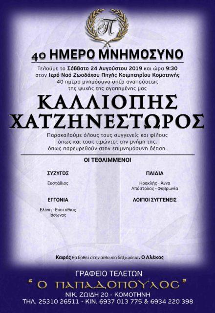 ΧΑΤΖΗΝΕΣΤΩΡΟΣ
